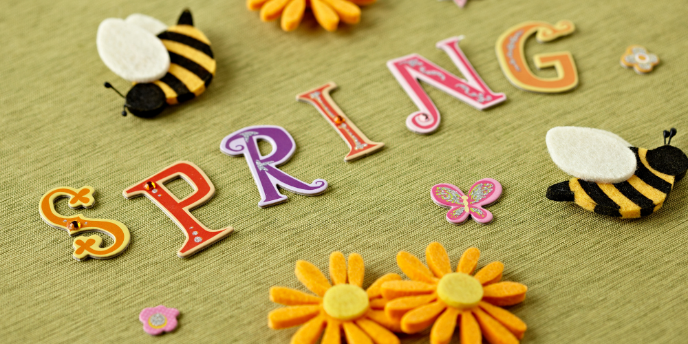 5 Spring inspired crafting projects for all the family