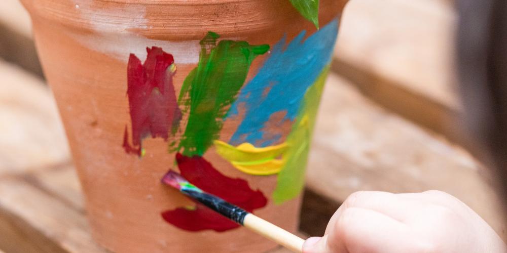paint a pot